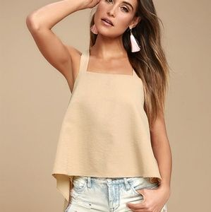 Lulus finesse indeed nude high low top